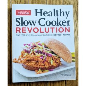 Other - America's Test Kitchen, Healthy Slow Cooker Book